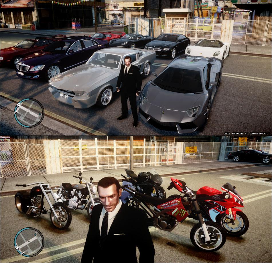 GTA 4 Car Mod Realistic Pack