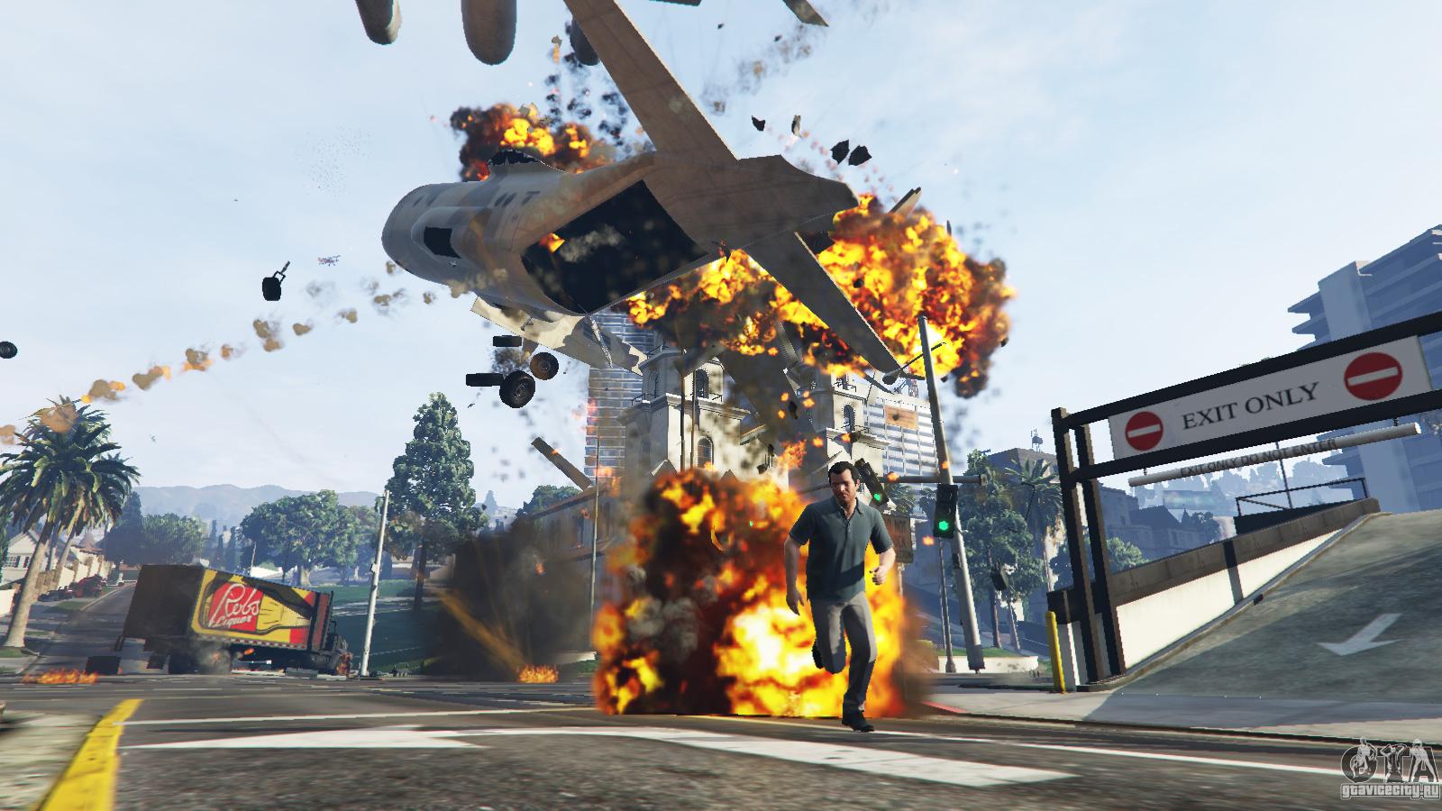 GTA 5 Angry Planes v1.2 Grand Theft Auto V